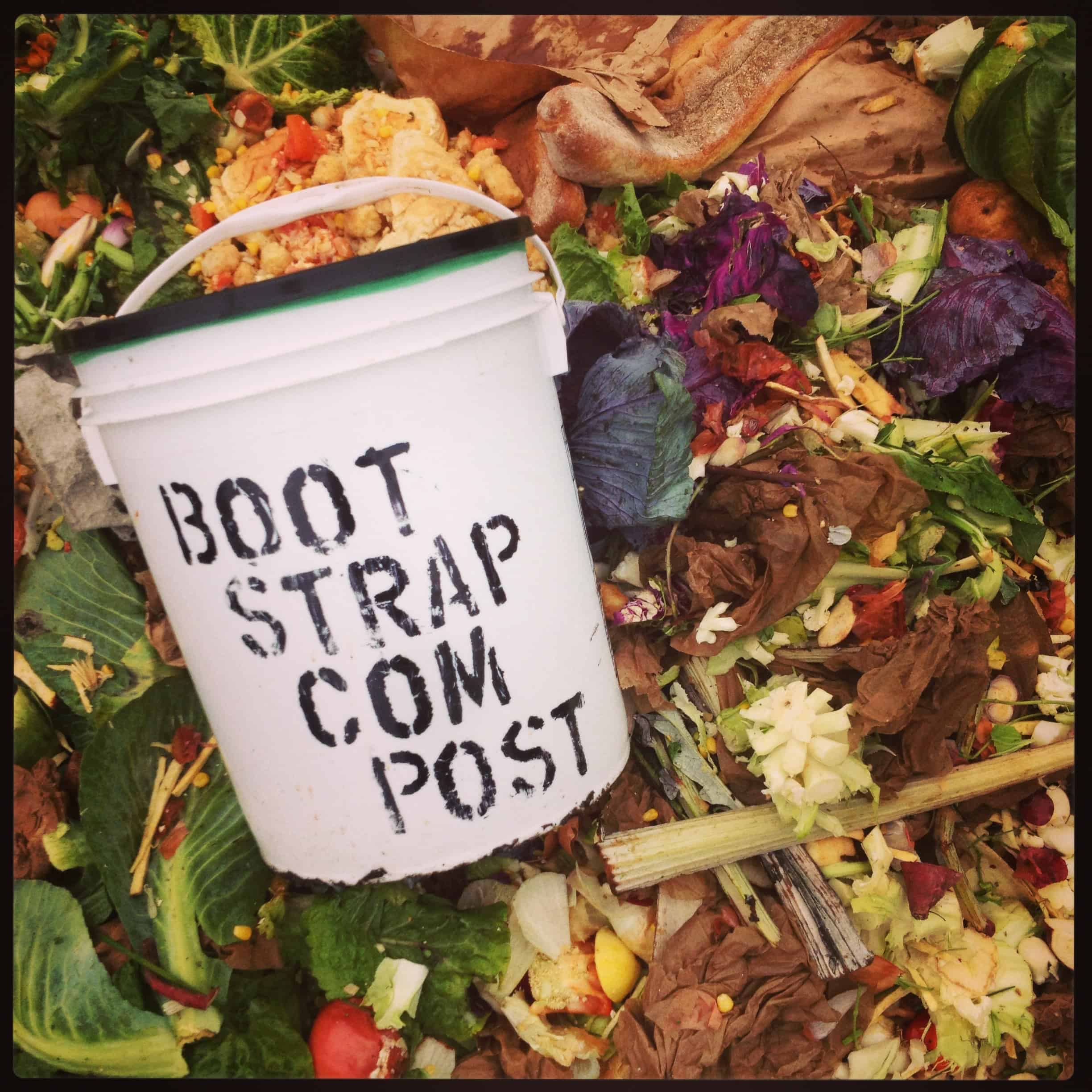 From the archives: Bootstrap food scraps arrive at Rocky HIll, circa 2014